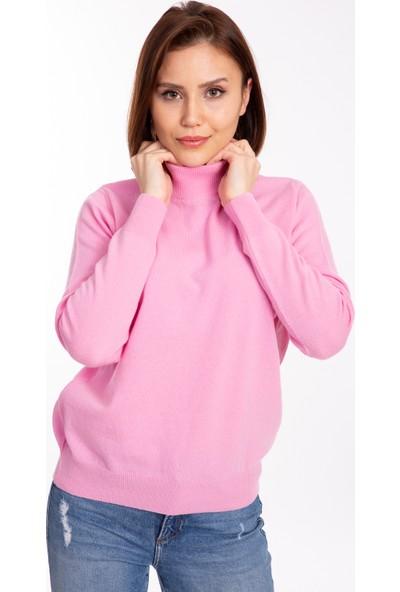 Desen Triko %100 Yün Kadın Triko Bluz