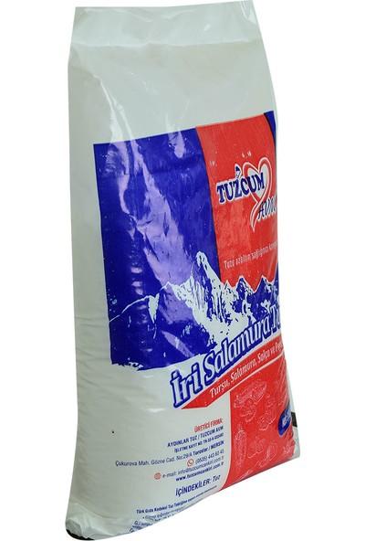 LokmanAVM Yemeklik Turşu Salamura Salça ve Peynirlik Granül Çakıl Sofra Tuzu 3000 gr
