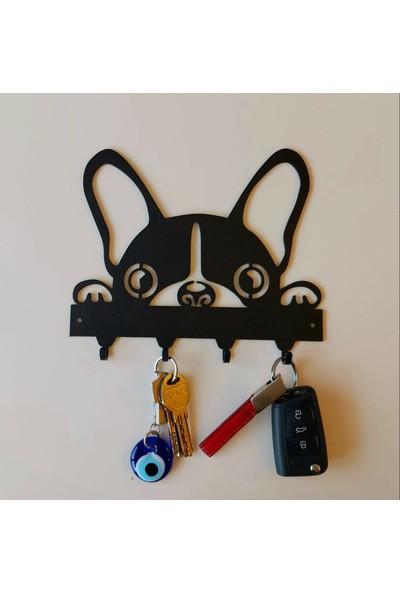 Foccaa Dizayn Metal Anahtar Askılık Köpekçik