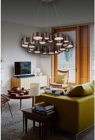 Luna Lighting Modern Luxury 6'li LED Avize