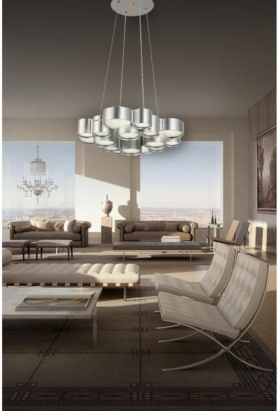 Luna Lighting Modern Luxury 4'lü LED Avize