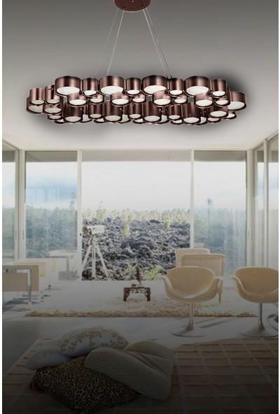 Luna Lighting Modern Luxury 8'li LED Avize