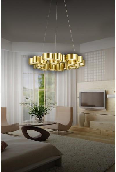 Luna Lighting Modern Luxury 5'li LED Avize