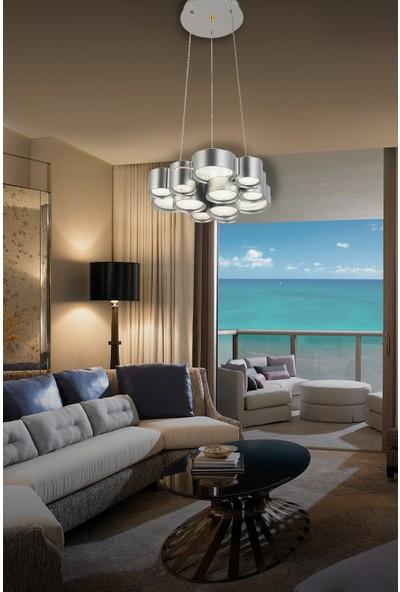 Luna Lighting Modern Luxury 3'lü LED Avize