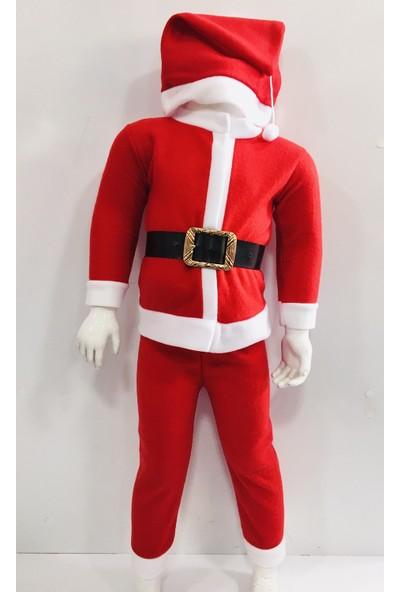 Seçkin Baby Erkek Çocuk Noel Baba Kostüm Yılbaşı Eğlence Çocuk Giyim