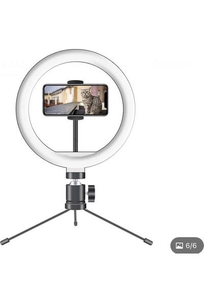 Poyraz Global 10 Inç Makyaj Selfi Işığı Mini Tripod