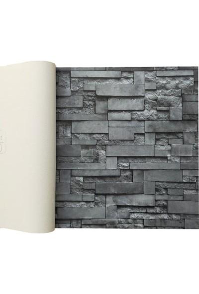 Golden 3 Boyutlu 12691 Taş Desenli Duvar Kağıdı (5m²) - Her Ürün Için Tutkal Hediye