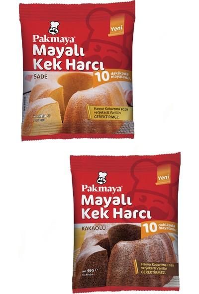 Pakmaya Ikram Hazır - Mayalı Sade Kek Harcı 28 gr + Mayalı Kakaolu Kek Harcı 46 gr