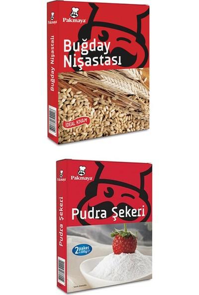 Pakmaya 200 gr Buğday Nişastası + 200 gr Pudra Şekeri