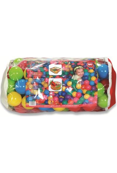 King Kids Oyun Havuzu Topları 90 mm 100'lü Çantalı