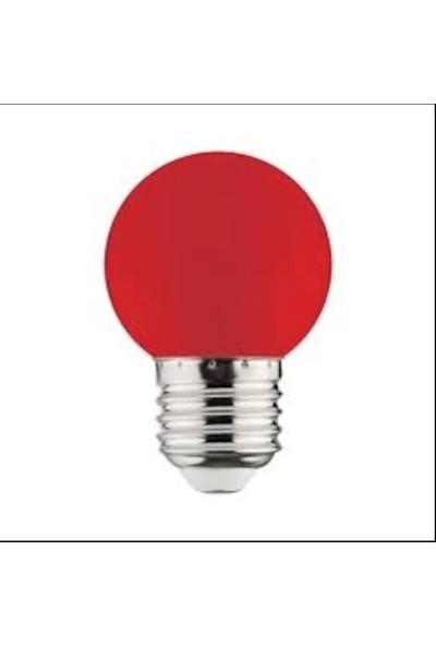 Horoz Rainbow 1W E27 Duy LED Ampül Kırmızı