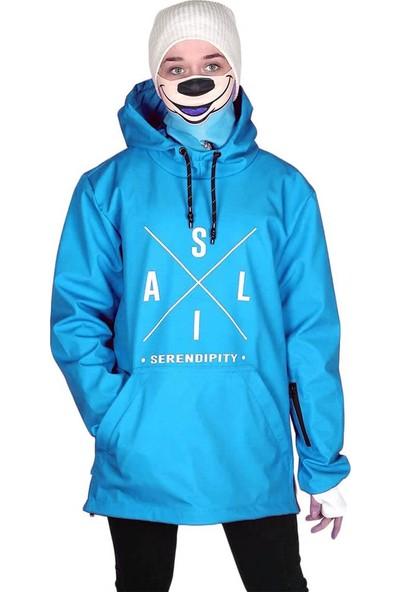 Snowsea SS5601 Kar Montu, Özel Tasarım Mavi Snowboard ve Kayak Montu