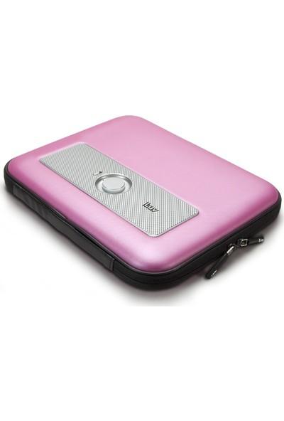 Iluv Taşınabilir Notebook ve Stereo Hoparlör Kılıfı Pembe ISP210BLK