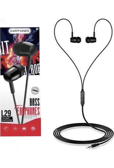 Platoon Extra Bass Kutulu Kulaklık Kablolu Mikrofonlu