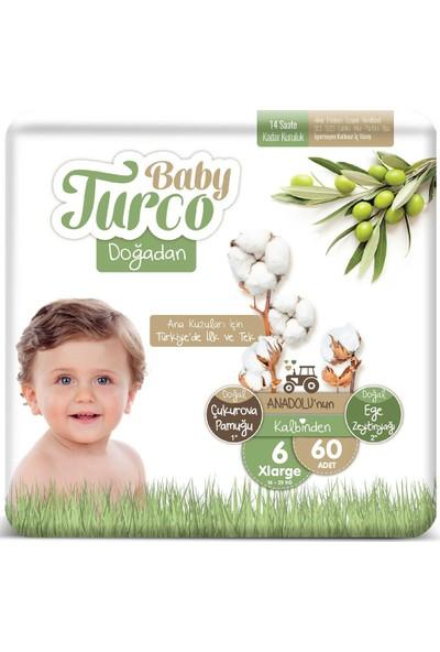 Baby Turco Doğadan 6 Numara Xlarge 16-25 kg 60 Adet