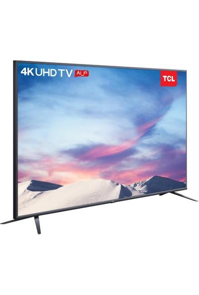 """TCL 55P8M 55"""" 139 Ekran Uydu Alıcılı 4K Ultra HD DVBS Android Smart LED TV"""