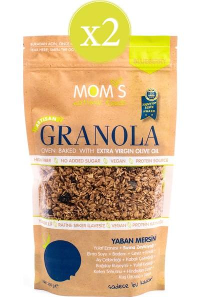 Mom's Natural Foods Ikili Granola Yaban Mersini 2* 360 gr