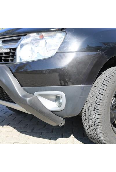 Cappafe Dacia Duster 2010- 2017 Yılı Arası Sis Farı Çerçevesi Gri