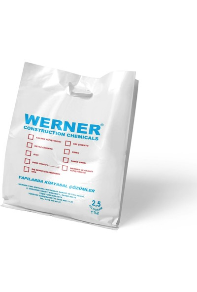 WERNER Beyaz Çimento