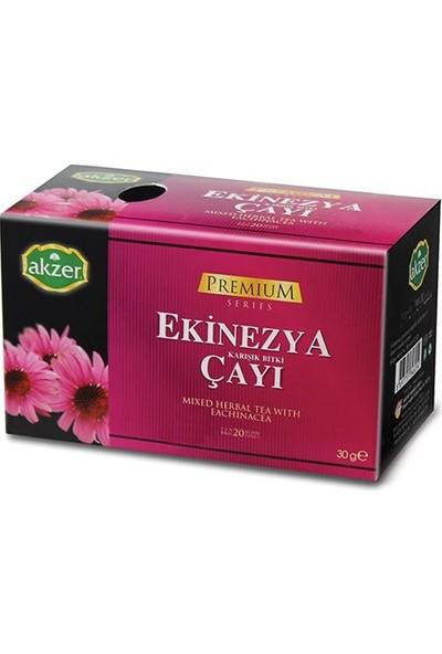 2 Adet Akzer Ekinezya Karışık Bitki Çayı 40 Süzen Poşet