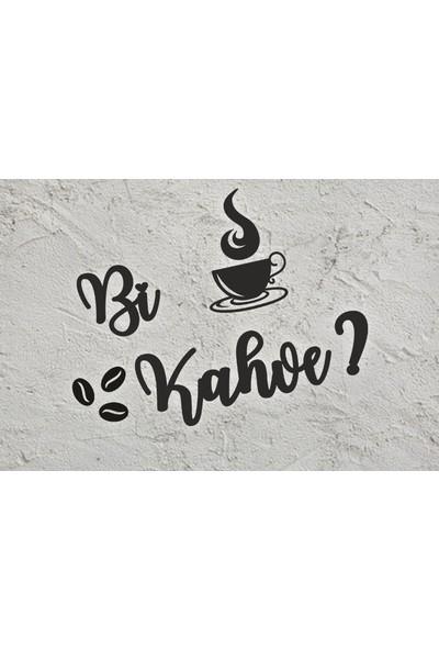 Berk Lazer Bi Kahve Ahşap Mutfak Dekoru
