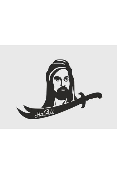 Berk Lazer Hz.ali Zülfikar Ahşap Duvar Dekoru