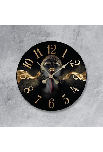 Revello Arap Kızı Temalı Bombeli Duvar Saati