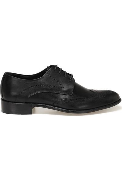 Garamond 1776-2 1fx Siyah Erkek Klasik Ayakkabı