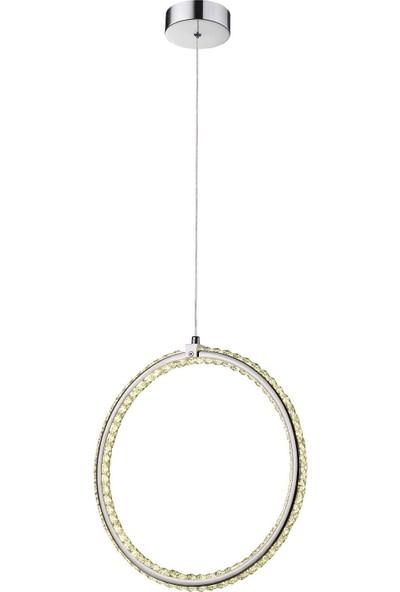 Burenze Luxury Modern Kristal Taşlı Sarkıt Avize Kademeli 3 Renk BURENZE671