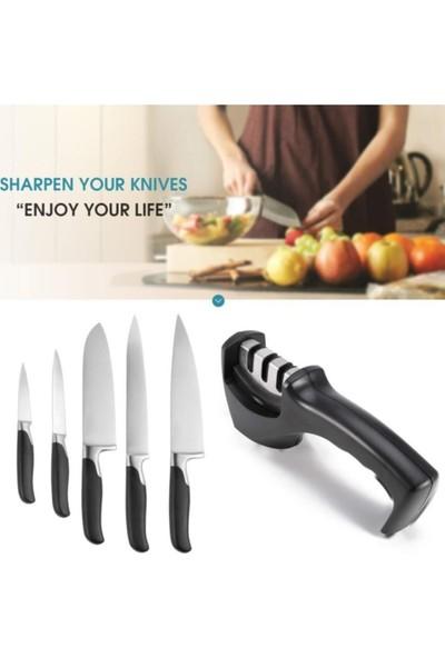 Sas Profesyonel Bıçak Bileyici 3 Açılı Elmas Seramik