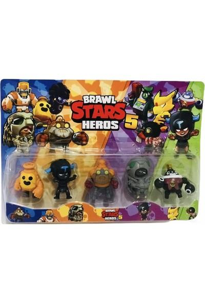 Star Toys Brawl Stars 5 Li Figür