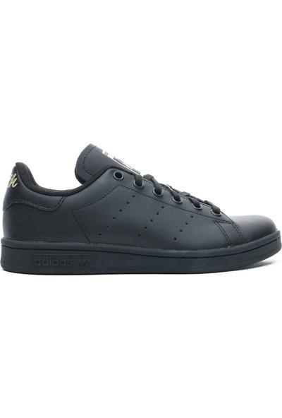 Adidas Stan Smith Kadın Siyah Spor Ayakkabı EF4914.-