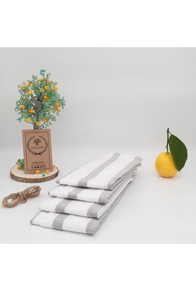 Seyit Ali Bey Seyitalibey   4 Adet   50*70 cm   Mutfak Kurulama Bezi   Geleneksel Kızılcabölük Dokuması  