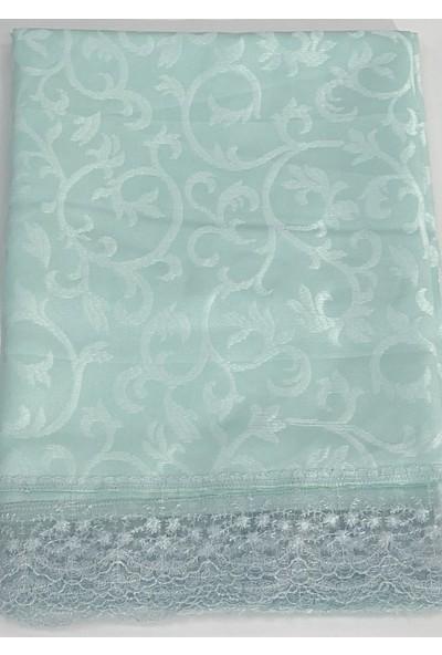 Köşem Çeyiz Kdk Kumaş Leke Tutmaz Dertsiz Masa Örtüsü 160X220 cm Su Yeşili