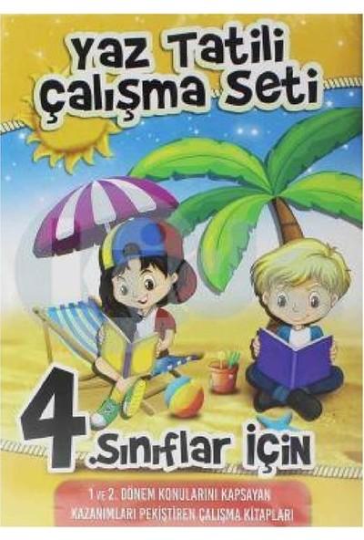 Kupa Yayınları - 4. Sınıf Yaz Tatili Çalışma Seti (3 Kitap)