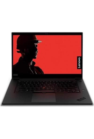 """Lenovo ThinkPad P1 Intel Core Xeon E-2276M 16GB 2TB SSD Quadro T2000 Windows 10 Pro 15.6"""" FHD Taşınabilir Bilgisayar 20QT003WTXZ4"""