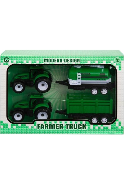 Can Em 2'li Römorklu Traktör - Tanker