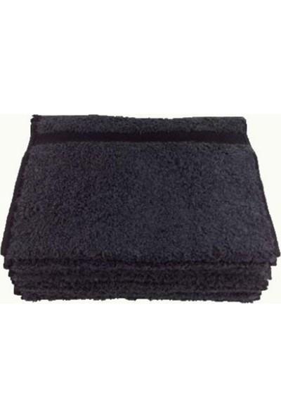 Bol Ticaret Tekstil 30X50 Siyah Koyu Gri Mutfak Havlusu 12 Adet