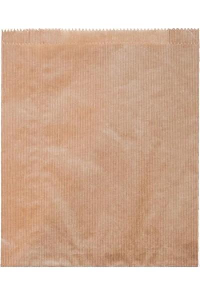 1001 Ambalaj Kese Kağıdı Çizgili Baskısız Şamua Kraft 25 x 40 1 kg
