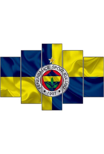 Nirvana Fenerbahçe Temalı 5 Parçalı Tablo