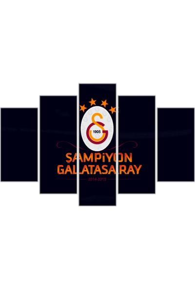 Nirvana Galatasaray Temalı 5 Parçalı Tablo