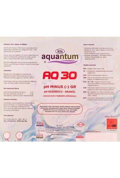 Aquantum 2 Adet Aquantum25 kg Ph Düşürücü Granül ( Toz )