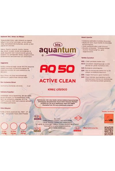 Aquantum 2 Adet Aquantum30 kg Active Clean 40 Temizler – Kir Çözer