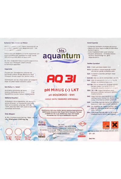 Aquantum Aquantum25 kg Ph Düşürücü Sıvı