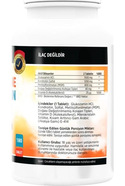 Nevfix Glucosamine Chondroitin Msm 180 Tablet & Vitamin D3 400 Iu 20 ml