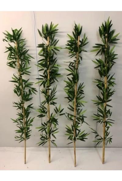 Bahçem Kalın Gövdeli Yapay Yapraklı Bambu 24-26MM 135CM 5ADET