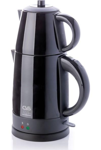 Cvs DN-1515 Sudem Deluxe Çelik Çay Makinesi Siyah