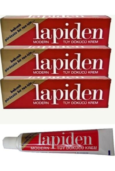 Lapiden Klasik Kırmızı Tüy Dökücü Krem 40GR 3 Adet