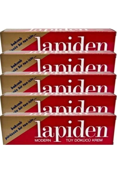 Lapiden Klasik Kırmızı Tüy Dökücü Krem 40 gr 5 Adet