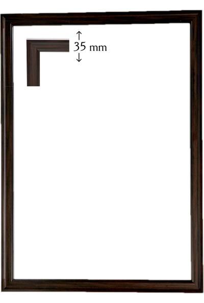 Efor Çerçeve Puzzle Çerçevesi 2000 Parça Kahve ( 96 cm x 66 cm )
